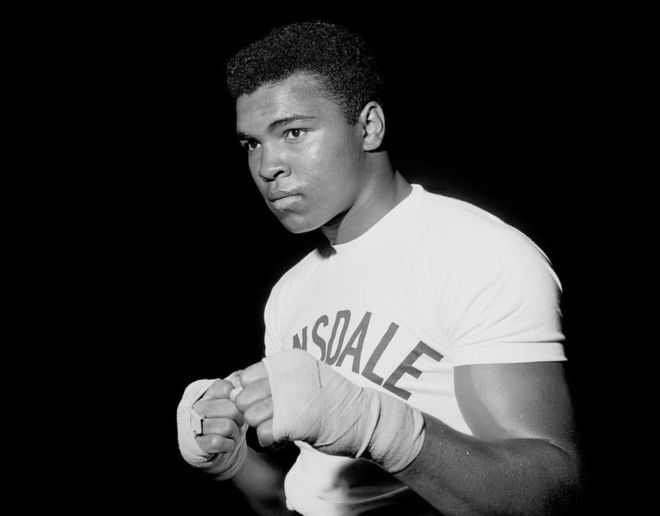 top sports legend of all time muhammad ali