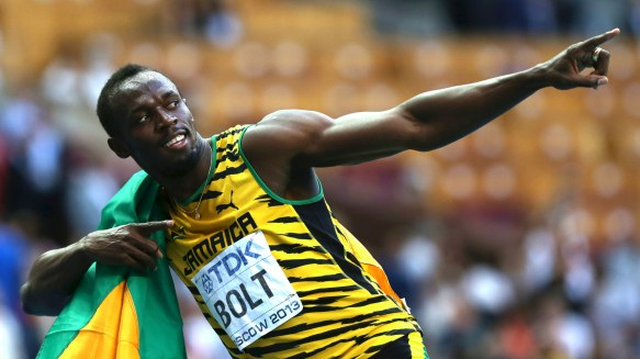 top sports legend of all time usain bolt