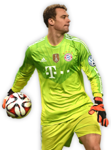 Manuel neuer players that managed to maintain clean sheets against messi