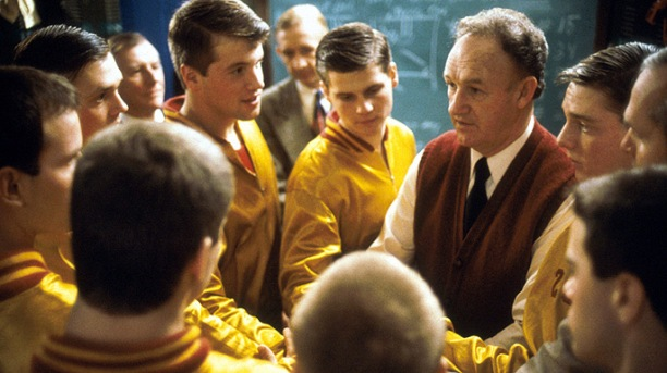 HOOSIERS TOP INSPIRATIONAL SPORTS MOVIES