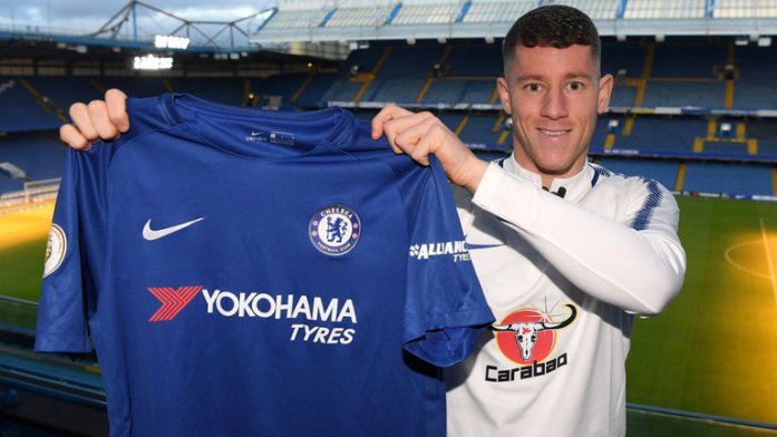 January 2018 transfer window highlights ross Barkley