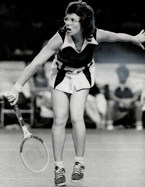 Billi Jean King top most influential female athletes