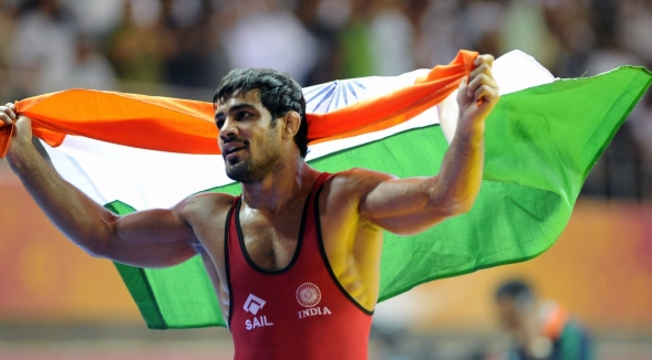 THE COMMONWEALTH GAMES 2018 Gold Coast SUSHIL KUMAR